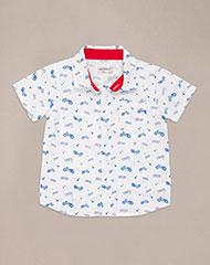 48b1e29fbf0 Imagen para Camisa para Bebé Niño Fece Blanca de Baby Fresh