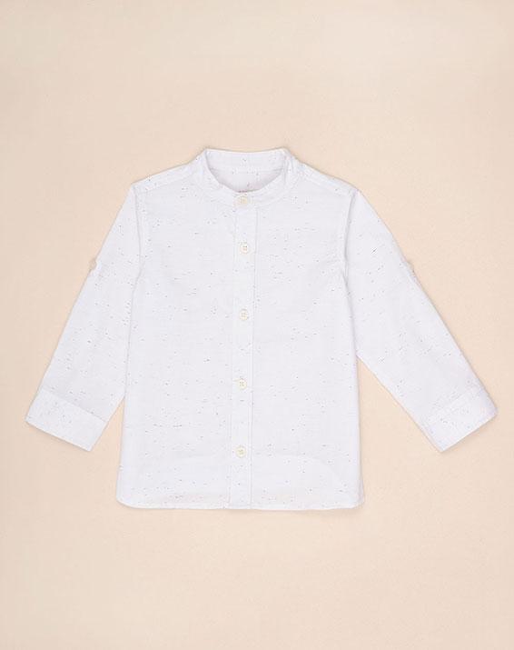 para ni/ño Blanco Camisa