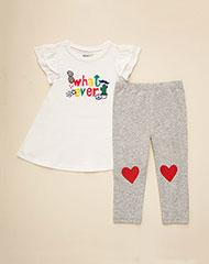 c3eb9c577f Imagen para Conjunto para Bebé Niña Joli Rojo de Baby Fresh