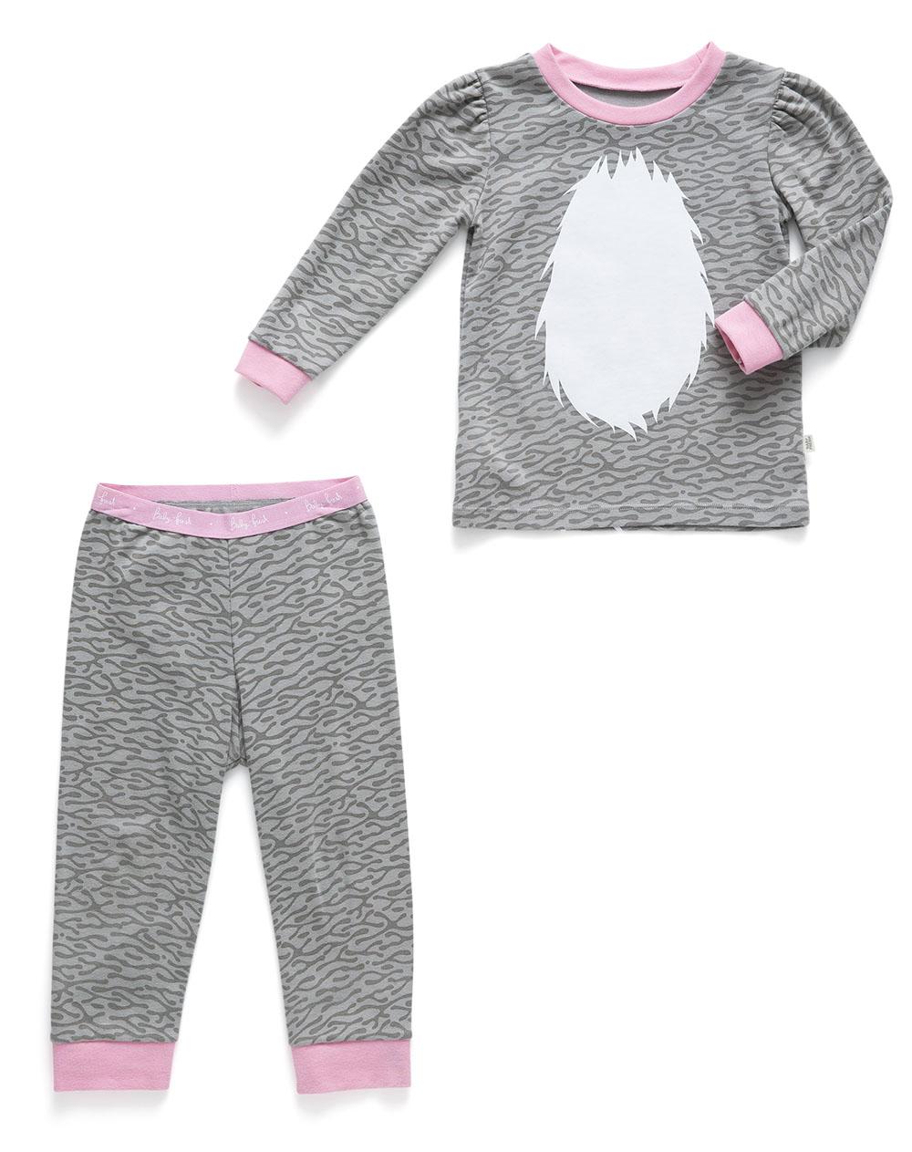 f46b01a70d Conjunto de Pijama para Bebé Niña Cat Magin Gris Baby Fresh